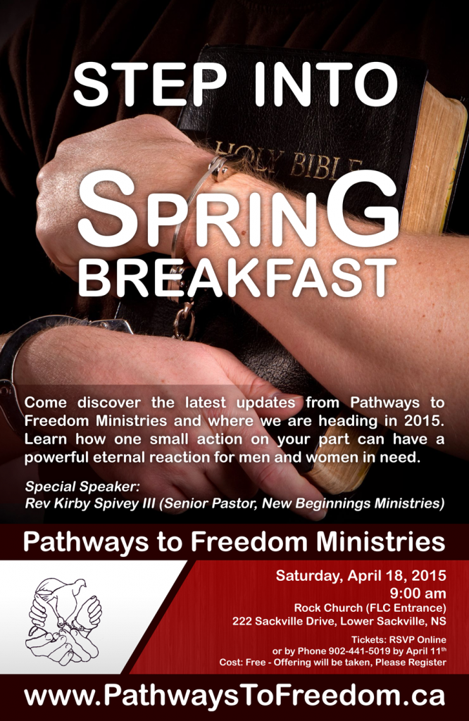 Step into Spring Breakfast Poster